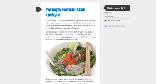 DámeJídlo.cz spouští blog o jídle a informacích ze zákulisí firmy