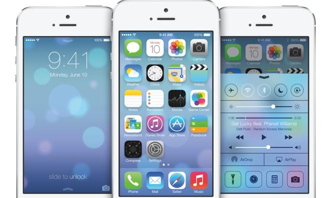 Postupná evoluce v iOS v jednom gifu