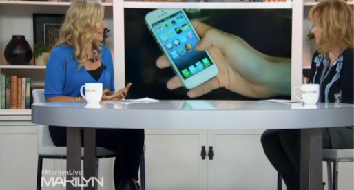 Aplikace Spendee v kanadském televizním pořadu The Marilyn Denis Show