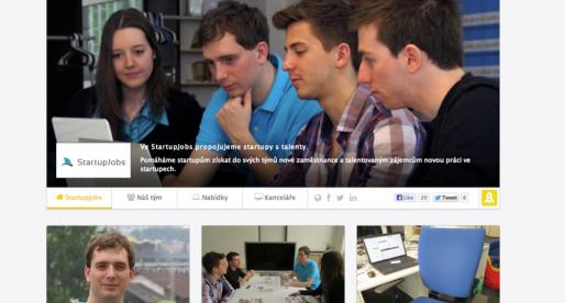 StartupJobs má nové profily pro startupy