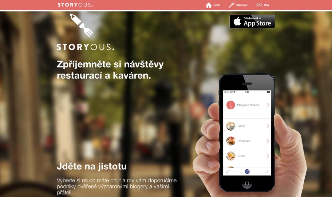 Propagační video iOS aplikace Storyous