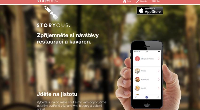iOS aplikace Storyous je venku. Chce zpříjemnit hledání podniků a následné placení