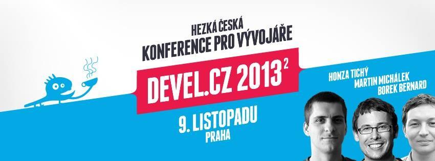 Devel.cz konference je za dveřmi, zbývá už jen 16 vstupenek