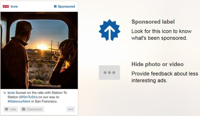 Takhle bude vypadat reklama na Instagramu