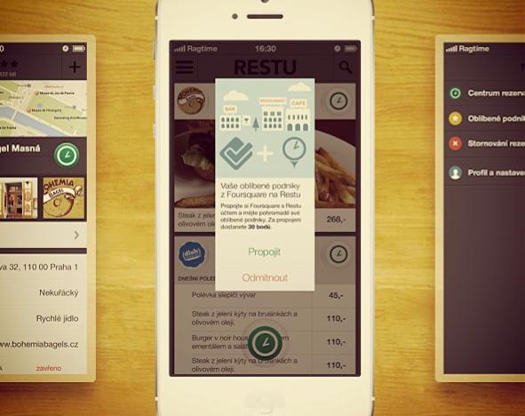 iOS aplikace Restu je venku. Změní trh s rezervacemi v ČR?