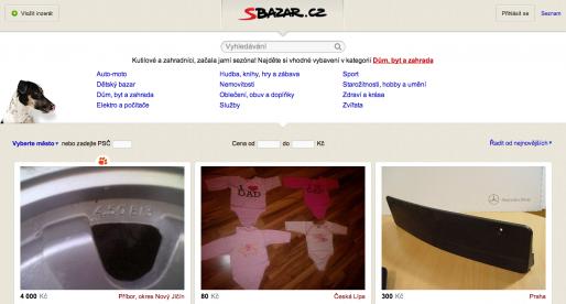 Android aplikace Sbazar.cz je hotova
