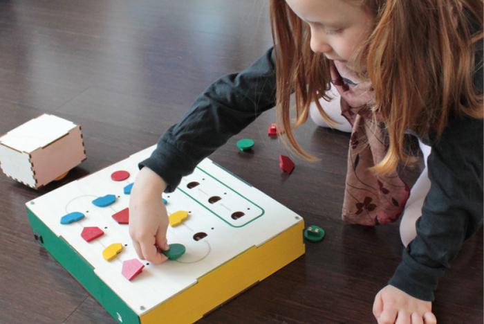 Primo, hrací sada z Kickstarteru, která chce děti naučit programovat