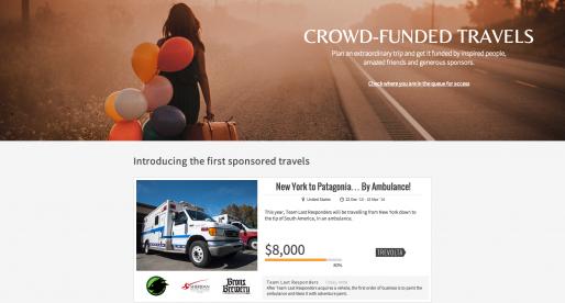 Kickstarter pro cestovatele s názvem Trevolta spouští první kampaně
