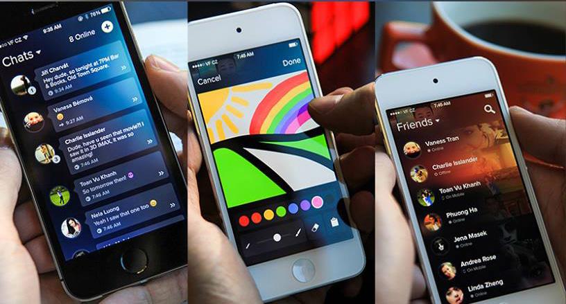 Česká iOS appka Bubble Chat je venku
