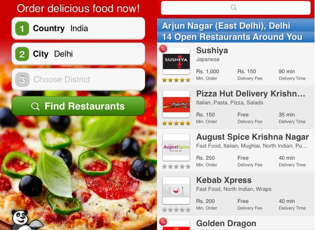 Česká Foodpanda má novou mobilní aplikaci pro iOS a Android