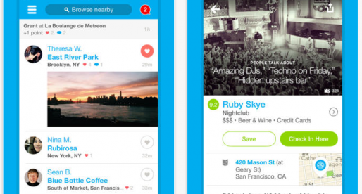 Foursquare kompletně redesignoval aplikaci pro iPhone