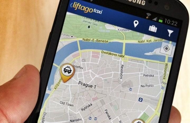 Mobilní aplikaci Liftago Taxi už v Praze využívá přes 200 řidičů