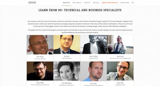 StartupYard s novým webem a otevřenými přihláškami pro rok 2014