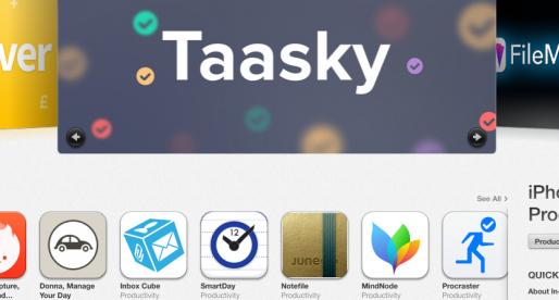 Českou appku Taasky opět promuje Apple