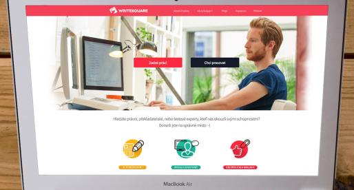 Představení českého projektu WriteSquare.com