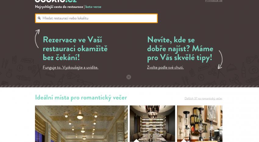 Bookio.cz v prosinci usadilo do restaurací 50 000 hostů