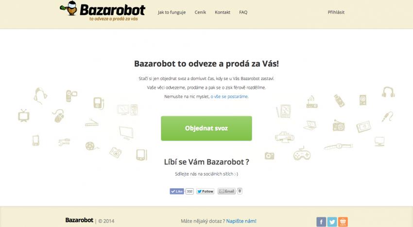 Martin Kasa a Adam Kurzok oficiálně investory Bazarobot.cz