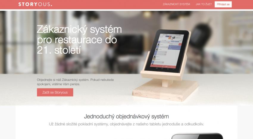 Český foodie startup Storyous brzy spustí objednávkový systém pro restaurace a kavárny
