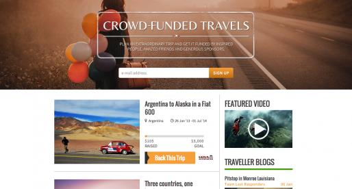 """""""Kickstarter"""" pro cestovatele oficiálně spuštěn pro veřejnost"""