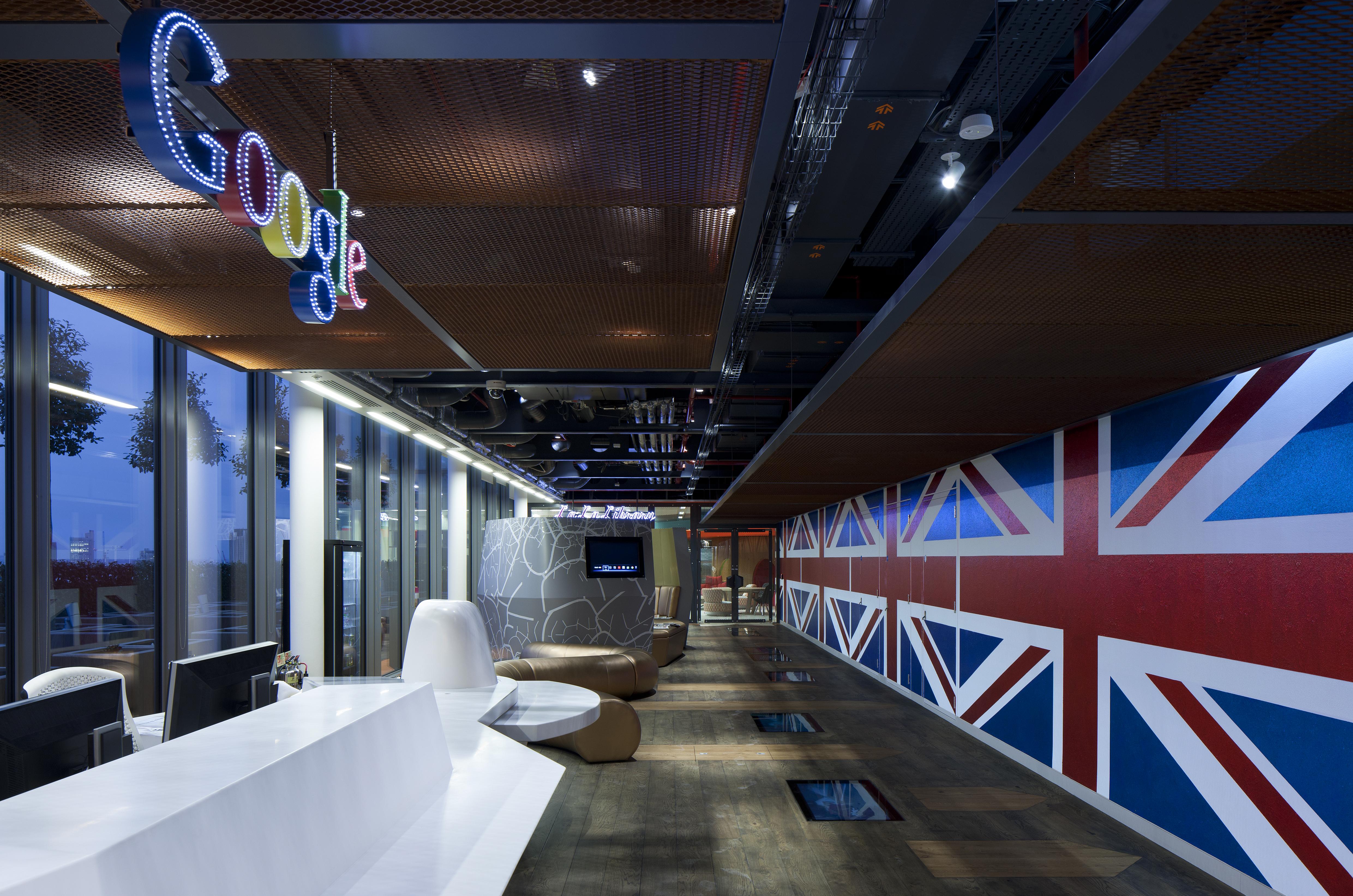Jak to vypadá v hlavních londýnských kancelářích Googlu?