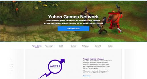 Yahoo míří do her a začíná konkurovat Facebooku