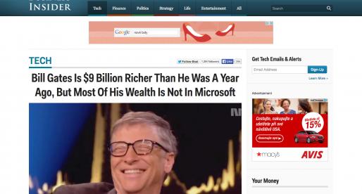 Business Insider získává investici ve výši 12 milionů dolarů. Zainvestoval i CEO Amazonu