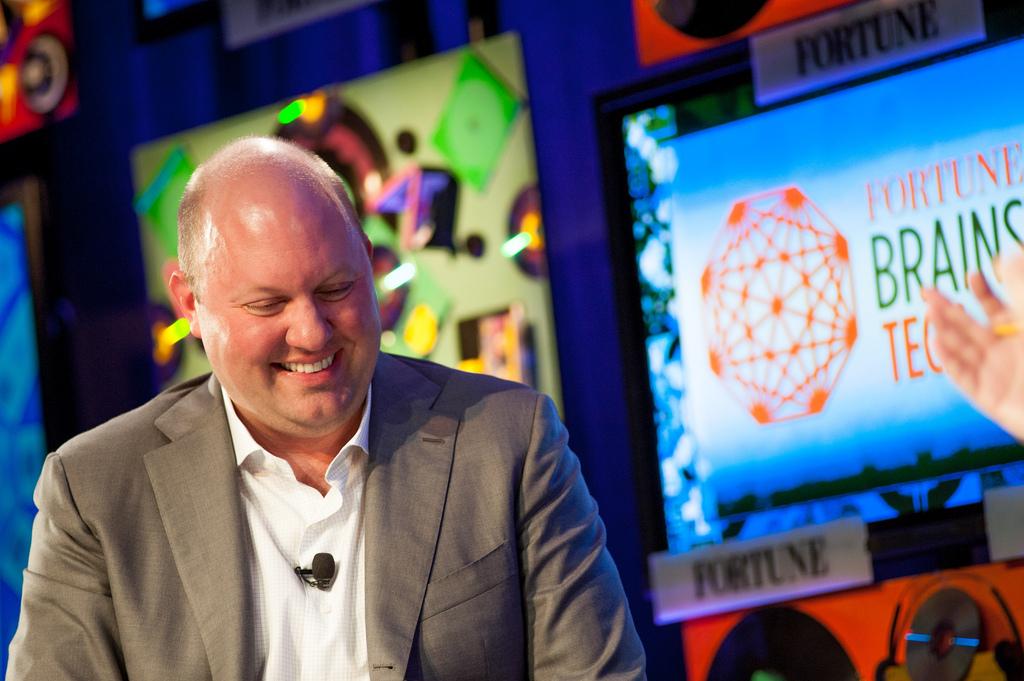 Spoluzakladatel investičního fondu Andreesen Horowitz, Marc Andreessen