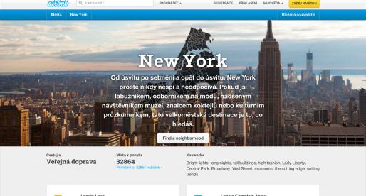 Airbnb opravdu získává obří investici ve výši 450 milionů dolarů