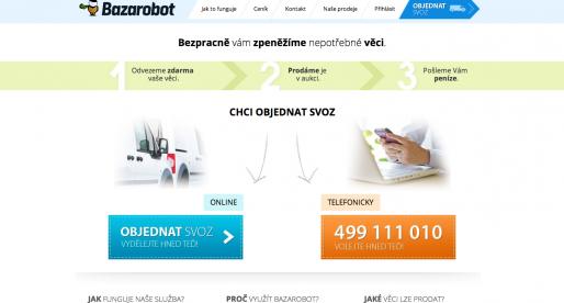 Bazarobot.cz mění systém provize