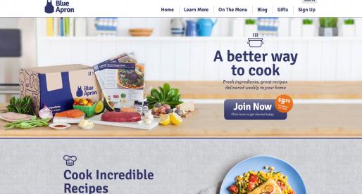 Food delivery služba Blue Apron, která inspirovala i české Vaříme.cz, získává investici ve výši 30 milionů dolarů