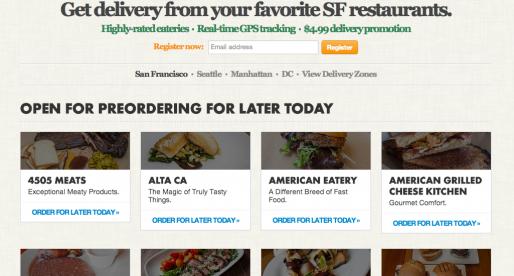 Prémiový food delivery startup Caviar ohlašuje investici ve výši 13 milionů dolarů
