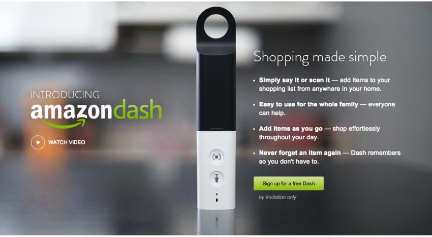 Amazon Dash, revoluce v nakupování potravin od Amazonu?