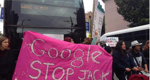 """Další """"anti-tech"""" protesty v San Franciscu. Tentokrát i s videem"""