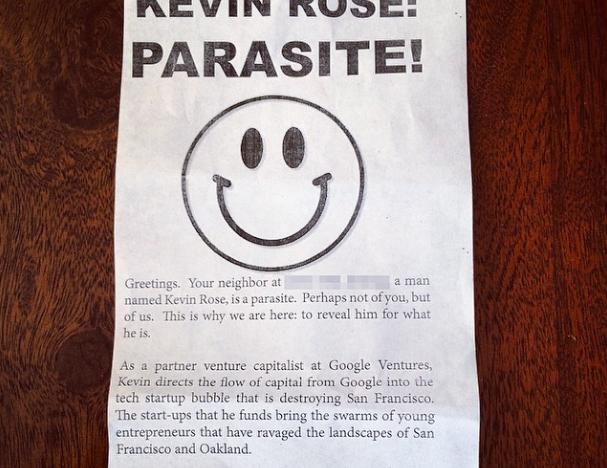 Investor a zakladatel služby Digg Kevin Rose dalším terčem anti-startupové nálady v San Franciscu