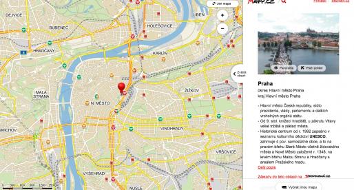 Seznam spustil nové Mapy.cz. Prozatím v beta verzi