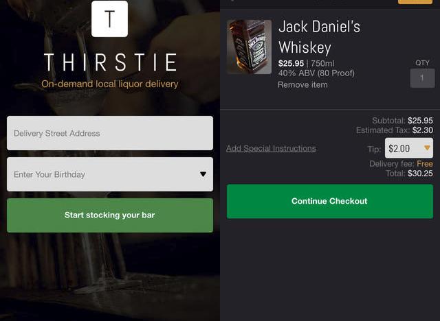 """Newyorská """"alcohol delivery"""" appka míří po počátečním úspěchu také do Chicaga a Los Angeles"""