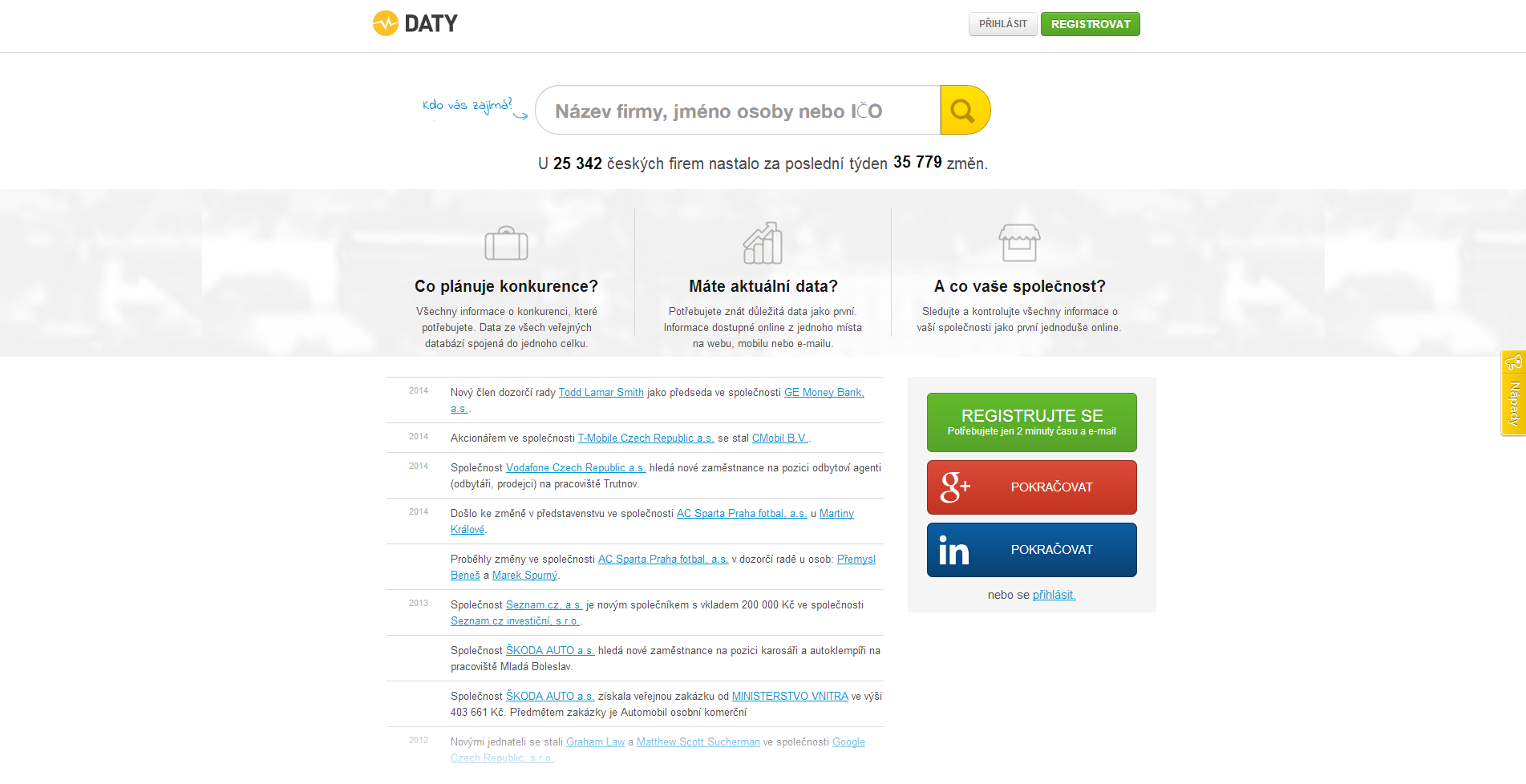daty.cz