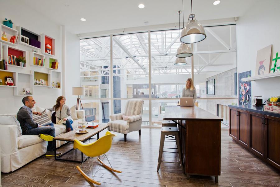 Jak to vypadá v hlavních kancelářích Airbnb v San Franciscu?