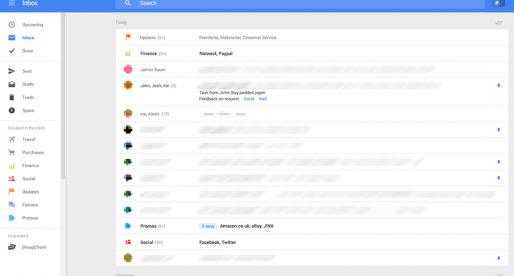Google možná chystá hodně radikální redesign desktopového Gmailu. Takhle vypadá…