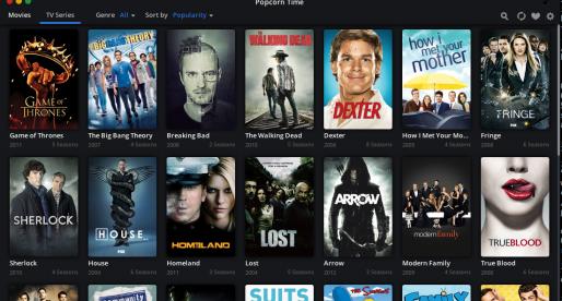 Revoluční přehrávač Popcorn Time nyní nabízí i seriály