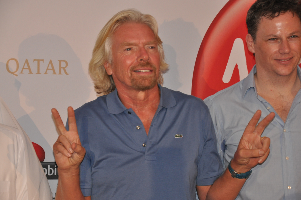 Jeden z investorů…zakladatel Virgin Group, Richard Branson