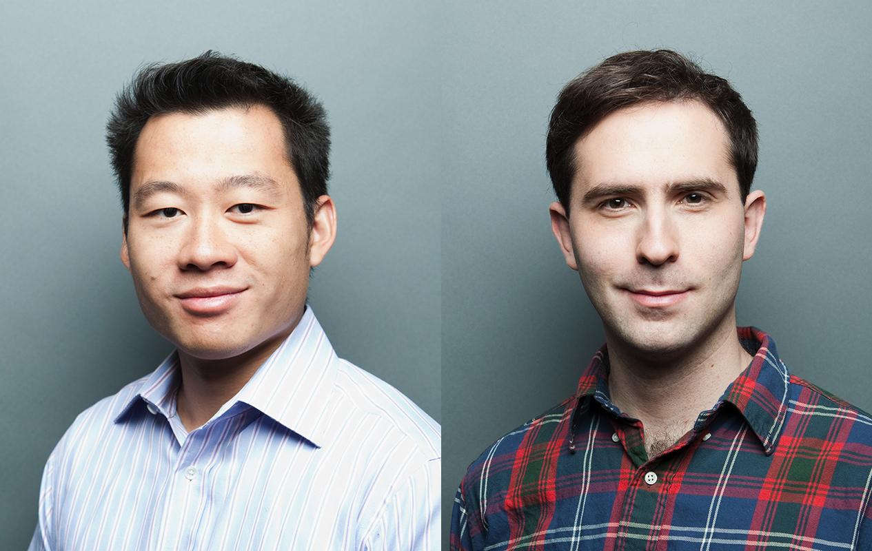 Zakladatelé Twitch Justin Kan a Emmett  Shear