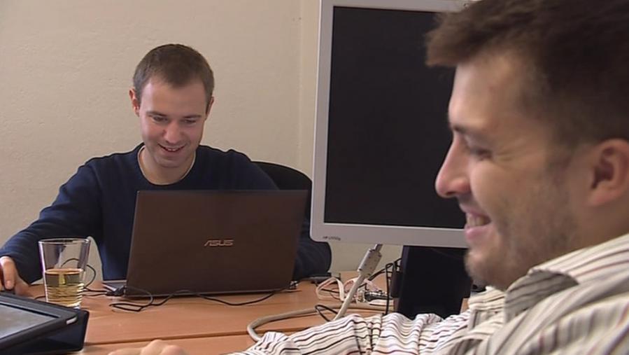 Zakladatelé Skypickeru – Oliver Dlouhý a Jozef Képesi