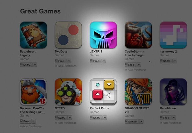 Perfect Paths mezi nejlepšími hrami za květen na americkém App Store…