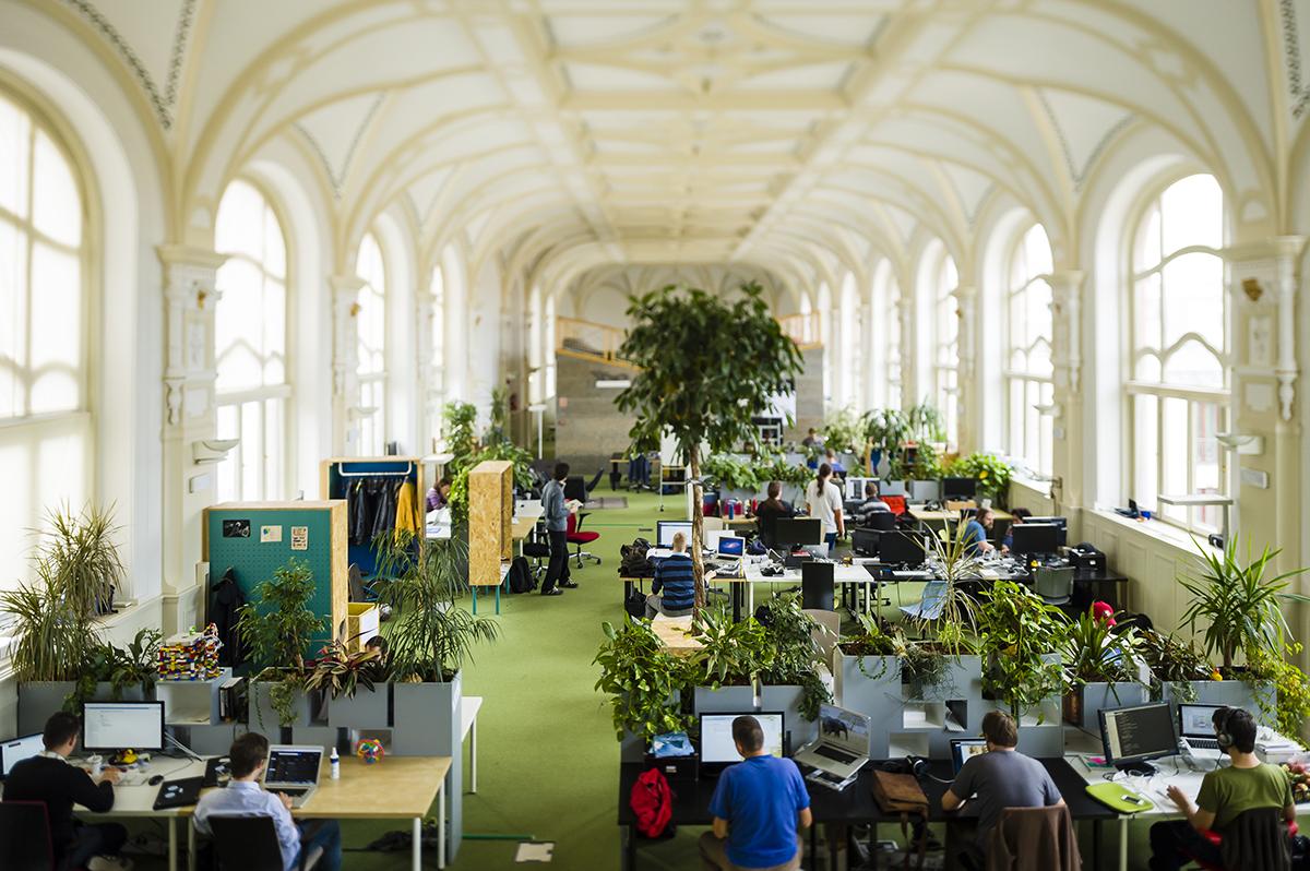 Kanceláře Prezi v Budapešti…
