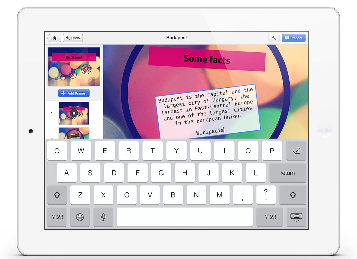 Prezi pro iPad