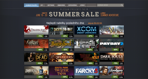 Steam láme rekordy, překonal metu 8 milionů souběžných uživatelů