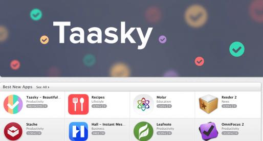 Apple promuje aplikaci Taasky od Cleevia