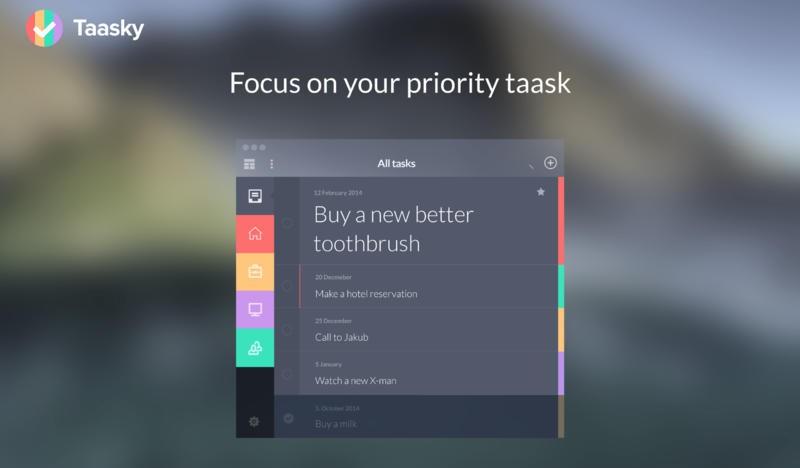 Cleevio a Scrape Apps vydávají aplikaci Taasky pro Mac