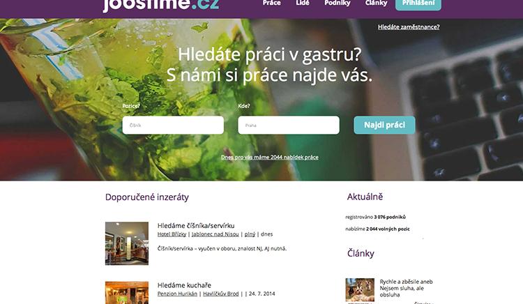 JOBSTIME.cz   Práce v gastronomii